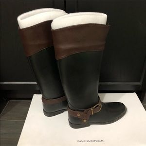 Banana Republic - Riding Rain Boots